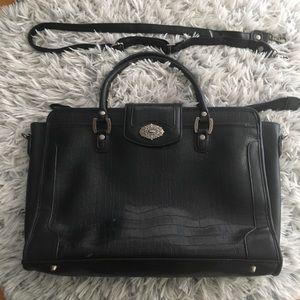 Vintage Croft & Barrow faux leather snakeskin bag